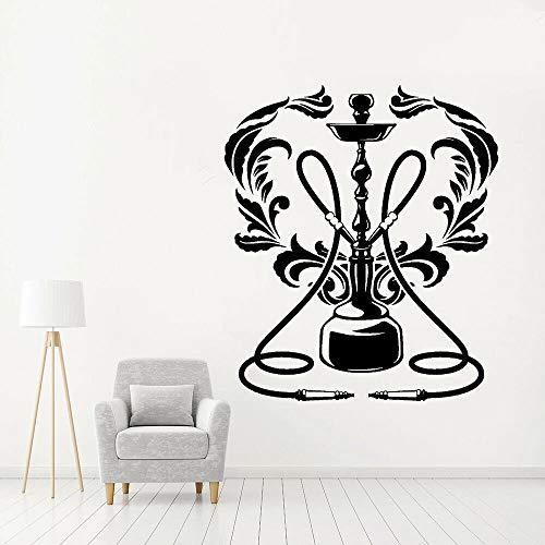WERWN Arte Creativo del Club de la Pared del Vinilo de la cachimba patrón Creativo decoración del hogar de la cachimba Pared de la Ventana