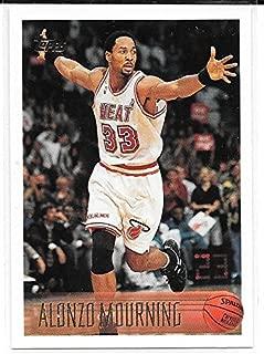 Alonzo Mourning 1996-97 Topps Miami Heat Card #113