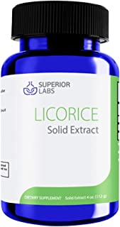 Superior Labs – Licorice Liquid Form Solid Extract - 4 oz - Supports Healthy Immune System - Promotes Normal Healthy Liver and Adrenal Gland Function
