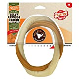 Nyla<span class='highlight'>bone</span> Extreme Tough Dog <span class='highlight'>Chew</span> <span class='highlight'>Toy</span>, Bully Stick Ring, Beef Flavour, Mess-Free, Medium, <span class='highlight'>For</span> Dogs Up To 16Kg - M
