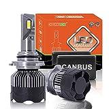 RiSheng 70W / Par De LED H7 Faros De Los Coches H11 H8 9005 9006 H4 Alta/Baja LED Dual Bulbos H1 Aumento De Brillo 500% 6000K Iluminación del Automóvil