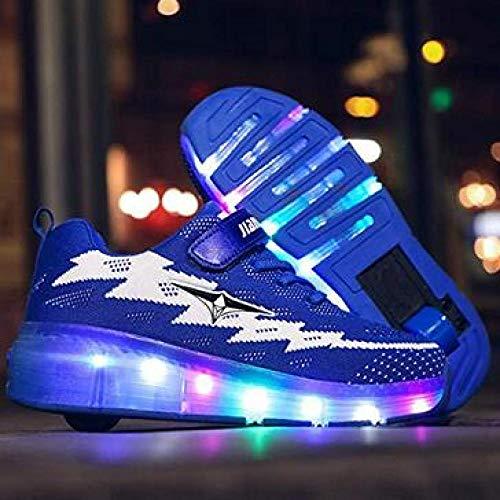 Chaussures De Marche Lumineuses pour La Premi/èRe Fois 1-7 Ans Baskets Clignotantes pour Gar/çOns Bottes Courtes De Sport pour B/éB/é ZHMEI Chaussure De Running Respirante pour Enfants /à LED Sneaker