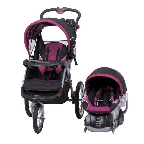 baby trend expedition elx travel system stroller pink nikki rantinno7. Black Bedroom Furniture Sets. Home Design Ideas