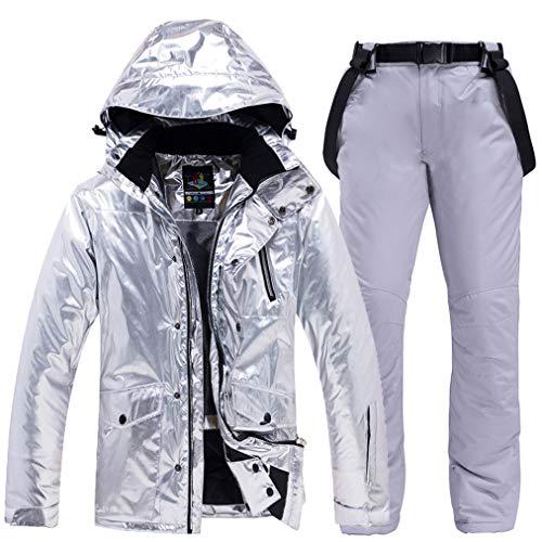 Skipak, regenjas voor heren en dames, warm, waterdicht, jas, regenjas, winter, casual, mantel met capuchon voor bergen, wandelen, reizen, sport