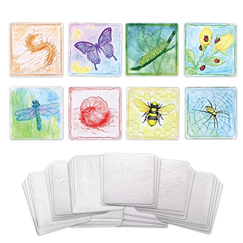 Creativity Street Insect Set Embossed Paper, 24-Pieces
