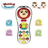 Tmox Juguete Niño 1 Año, Juguete de Control Remoto para Niñas de 12-24 Meses 6-18 Meses Regalo de Juguete Musical para Niña Regalo de Cumpleaños para Bebés de 1 2 3 Niños