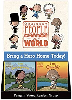 Ordinary People Change the World 6 Copy Counter Display: I Am Sacagawea & I Am Gandhi: Includes Complimentary Ordinary Peo...