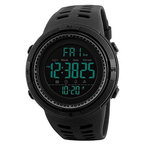 SKMEI Black Dial Black Digital Dial Men's And Boy's Watch