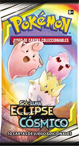 Pokemon - Sobre con 10 cartas Sol y Luna Eclipse Cósmico (Bandai PC50036)