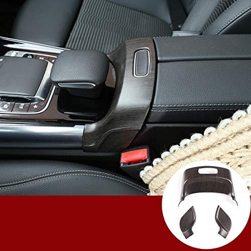 Auto-Innenausstattung Mittelarmlehne Box Schalter Rahmen Abdeckung Trim 3 Stück für Benz B GLB Klasse W247 X247 2019 2020 Zubehör