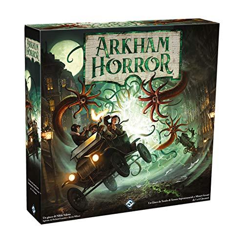 Asmodee - Arkham Horror El Juego de Mesa, 3 a Ed. 9626...