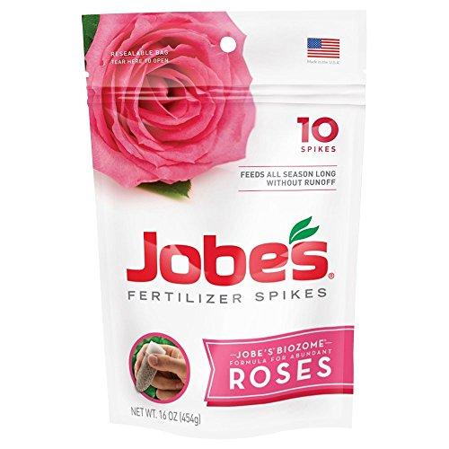 Jobe's Rose Fertilizer Spikes, 10 Spikes