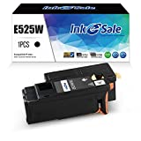 INK E-SALE Replacement for Dell E525W E525 525 Toner Cartridge 1 Pack Black