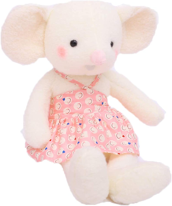 Plush TOY Kreatives reizendes Museplüschspielzeug, weiches aufgefülltes Puppe Ragdoll Kissen des Jungenmdchenbabys, Hamsterfigürchen Kindergeburtstagsgeschenk Feriengeschenk Fyxd