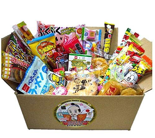 Japanese candy assortment 30pcs , full of dagashi. TONOSAMA CANDY by TONOSAMA CANDY BOX
