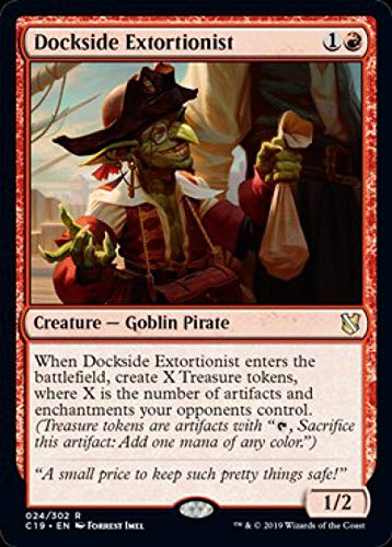 Magic: The Gathering - Dockside Extortionist - Commander 2019