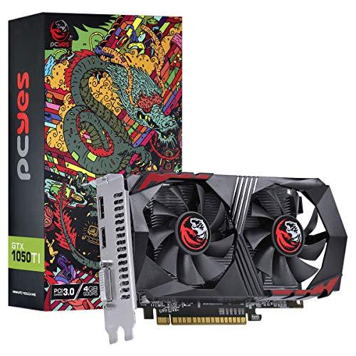 PLACA DE VIDEO NVIDIA GEFORCE GTX 1050 TI 4GB GDDR5 128 BITS DUAL-FAN - GRAFFITI SERIES - PA1050TI12804G5DF, PCYES, 30682