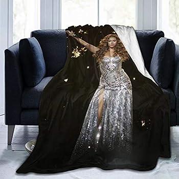 HADIHADI 80 x60  Super Soft Cozy Fleece Blanket for All Season Lightweight Throw Blanket for Bed Sofa Couch