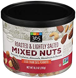 365 Everyday Value, Mixed Nuts, Roasted & Lightly Salted, 10.3 oz
