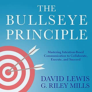 The Bullseye Principle audiobook cover art