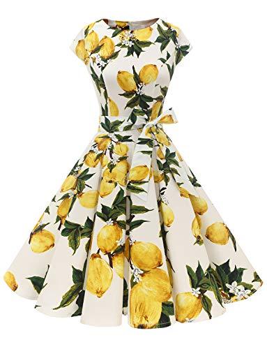 (48% OFF Coupon) Women's Vintage 1950s Retro Dress $14.30