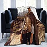 LFJKNU Clint Eastwood Ultra-Soft Brot-Hers Micro Fleece Flannel Blanket Printed Soft Home Decor Warm Anti-Pilling Throw Blanket for Couch Bed Sofa 80' x60
