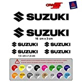 Pegatina Adhesivo Compatible con Suzuki Troquelado Vinilo Mod 1 16 Colores Disponibles Kit 6 Unidades