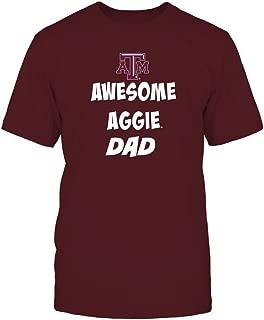 Texas A&M Aggies T-Shirt - Texas Aggie Awesome Dad
