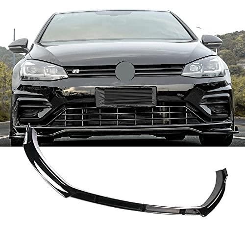 BUNUMO Frontspoiler,geeignet Für Golf 7/7.5 Mk7 GTI GTD 7r 2014-2019,Auto Front Flaps Spoiler Lippen Frontspoilerlippe Kinn Schürze Geändertes Auto