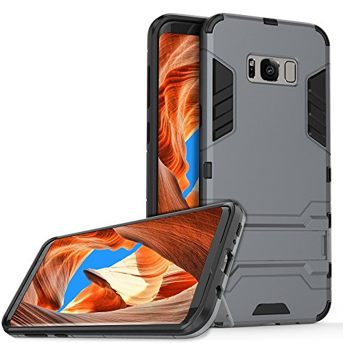 Custodia Samsung Galaxy S8 Plus, Vitutech Bumper Caso per Galaxy S8 Plus Case [Dual Layer] Custodia Bumper Cover in silicone...