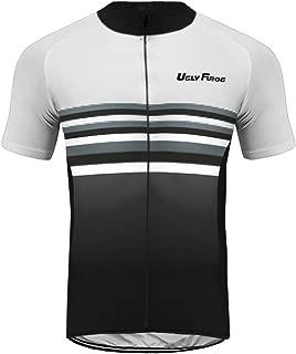 Uglyfrog Men Cycling Jersey MTB Shirts Short Sleeve Set bib Shorts D8