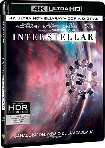 Interstellar Blu-Ray Uhd [Blu-ray]