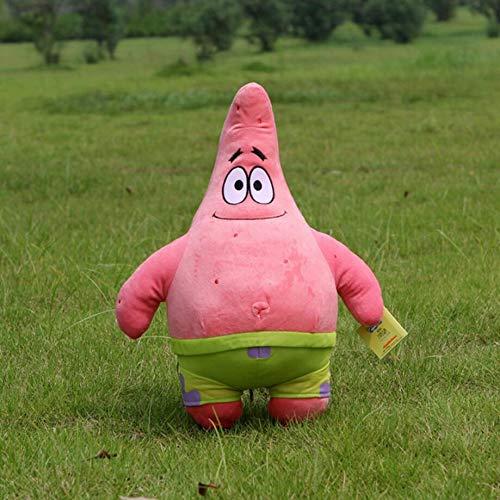 Ruiodr Patrick Star Plüsch Glückliches Lächeln Liebe Seestern Spielzeug Für Kinder Nette Burger Anime Weiche Qualität Puppe