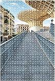 Rompecabezas de madera 500 piezas Ruinas antiguas del Foro Romano en Roma Italia Rompecabezas de mesa divertidos y desafiantes Juego Juguetes Regalo Decoración para el hogar-Puzzle7