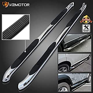 S & T RACING INC for Ford Explorer XLT Limited 4Dr Chrome SS Side Step Nerf Bar Running Boards
