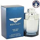 Bentley Azure 100ml/3.4oz Eau De Toilette Spray Men Cologne Perfume Fragrance