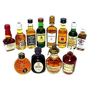 輸入ウイスキー・ブランデー ミニチュアボトル 12本セット 50ml
