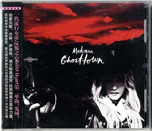 Madonna - GHOSTTOWN / CD SINGLE 10 REMIXES / CHINA 2015