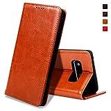 EATCYE Coque Galaxy Note 8,Housse Galaxy Note 8, Premium Étui [en Cuir Véritable]...