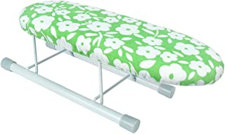 HHUU Tabletop Ironing Board with Retractable Iron Rest, Portable Ironing Board with Folding Legs for Sewing, Craft Room, Household