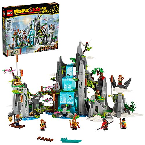 LEGO Monkie Kid The Legendary Flower Fruit Mountain 80024 Awesome Toy Building Kit (1,947 Pieces)