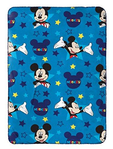 Jay Franco Mickey Mouse Plush Travel Blanket