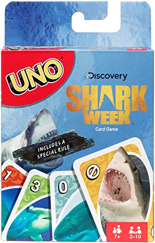 Official Shark Week Themed UNO