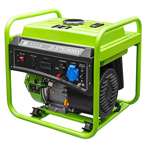 Generador Electrico Gasolina 230V 2800W Zipper Zi-Ste2800Iv Inverter Usb Pc Etc