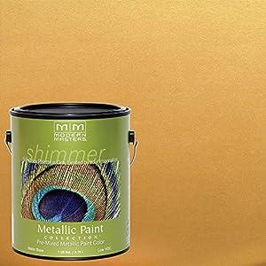 MODERN MASTERS ME660-GAL Metallic Paint, Pharaoh Gold
