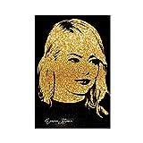 Emma Stone Poster mit berühmten Zitaten, inspirierendes