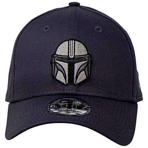 New Era Star Wars The Mandalorian Helm 9Forty, verstellbar, Grau