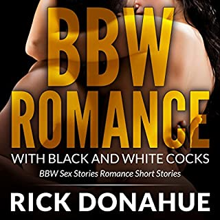 BBW Romance with Black and White Cocks audiobook cover art