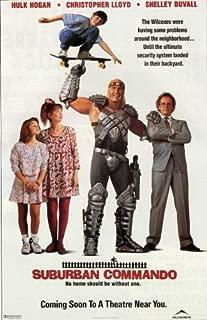Pop Culture Graphics Suburban Commando Poster C 27x40 Hulk Hogan Christopher Lloyd Shelley Duvall