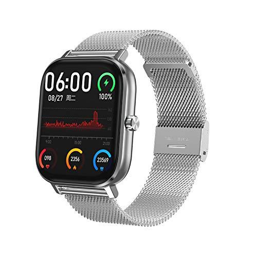 HQHOME Smartwatch,1.54 Zoll Touch-Farbdisplay Fitness Armbanduhr mit Pulsuhr Fitness Tracker Sportuhr Smart Watch mit Aktivitätstracker,Schrittzähler,Schlafmonitor,Stoppuhr für Damen Herren Kinder